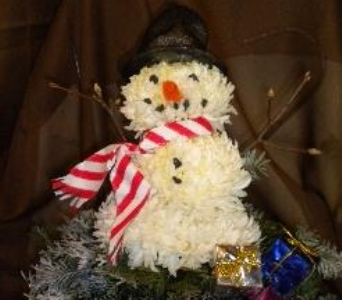 Frosty the Snowman in Crown Point IN, Debbie's Designs