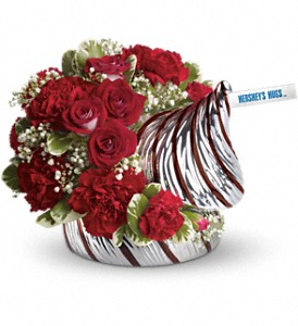 HERSHEY'S HUGS Bouquet by Teleflora in Winston Salem NC, Sherwood Flower Shop, Inc.