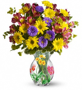Teleflora's Thank You Bouquet in El Campo TX, Floral Gardens