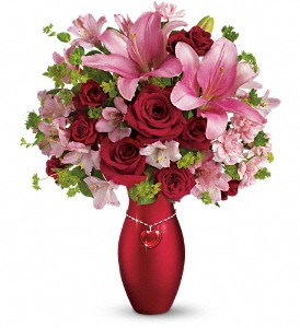 Teleflora's Charm Her Bouquet in Winston Salem NC, Sherwood Flower Shop, Inc.