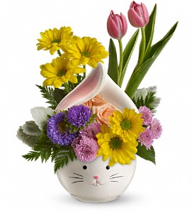 Teleflora's Easter Bunny Bouquet in Royal Oak MI, Rangers Floral Garden