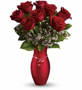 Teleflora's All My Heart Bouquet - Red Roses in Ft. Lauderdale FL, Jim Threlkel Florist