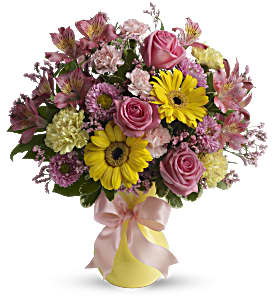 Darling Dreams Bouquet by Teleflora in Skowhegan ME, Boynton's Greenhouses, Inc.