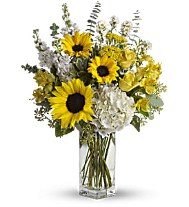 To See You Smile Bouquet by Teleflora in St. Petersburg FL, Artistic Flowers