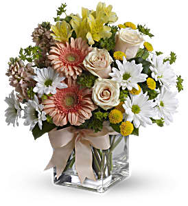 Teleflora's Walk in the Country Bouquet in Bonita Springs FL, Bonita Blooms Flower Shop, Inc.