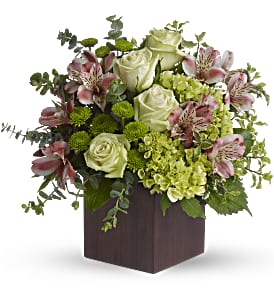 Teleflora's Tuscan Morning Bouquet in Surrey BC, La Belle Fleur Floral Boutique Ltd.