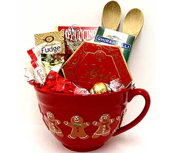 XGF141 ''Mixing Bowl'' Christmas Gourmet Gift in Oklahoma City OK, Array of Flowers & Gifts