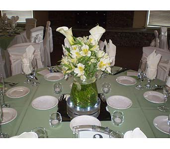 LIGHTED TABLE CENTERPIECES in Hanover PA, Country Manor Florist