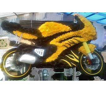 Motorcycle Tribute in Port Chester NY, Port Chester Florist