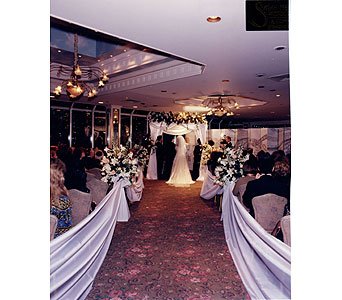 Wedding Hoopas in New York NY, Fellan Florists Floral Galleria
