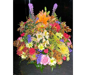 Fall Centerpiece in Brooklyn NY, Parkway Flower Shop