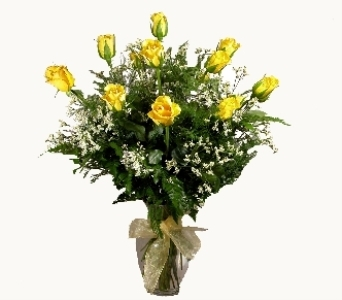 Yellow Roses in Stuart FL, Harbour Bay Florist