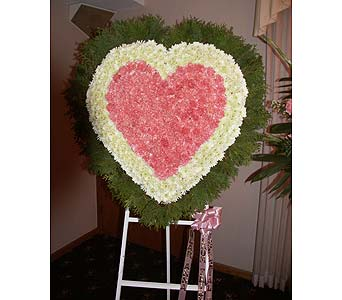 Heart-Solid in Chicago IL, Soukal Floral Co. & Greenhouses
