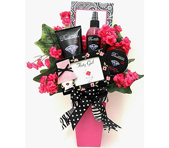 GB313  Fun & Flirty Gift Bouquet in Oklahoma City OK, Array of Flowers & Gifts