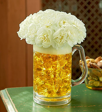 Beer Mug of Blooms in Corning NY, House Of Flowers