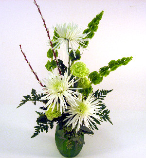 Luck of The Irish Vase in Big Rapids MI, Patterson's Flowers, Inc.