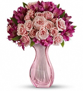 Teleflora's Pink Fire Bouquet in Muskegon MI, Barry's Flower Shop