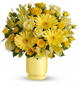 Always Sunny By Teleflora in Bowmanville ON, Bev's Flowers