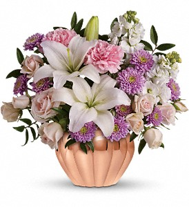 Love's Sweet Medley by Teleflora in Ambridge PA, Heritage Floral Shoppe
