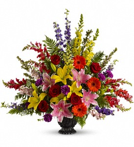 Walk in Rainbows by Teleflora in Orange CA, Main Street Florist