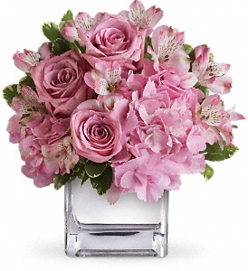Teleflora's Be Sweet Bouquet in Cocoa FL, A Basket Of Love Florist
