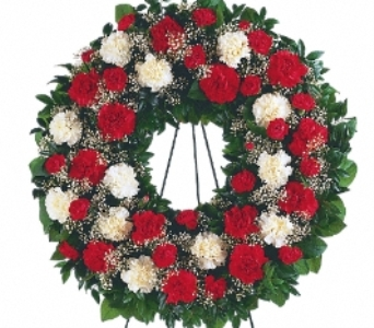 Hope and Honour Wreath in Scarborough ON, Helen Blakey Flowers
