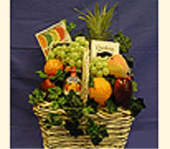 Kosher Fruit & Gourmet Basket in New York NY, CitiFloral Inc.