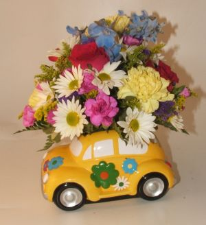 Love Bug Bouquet in Salisbury MD, Kitty's Flowers