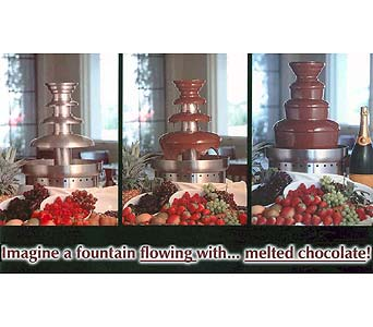 Chocolate Fountains : Chocolate Fountain Rental and Chocolate Fountain Sales in Grand Island NE, Roses For You!