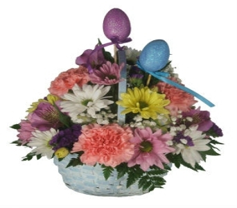 Large Easter Basket in Ogdensburg NY, Basta's Flower Shop