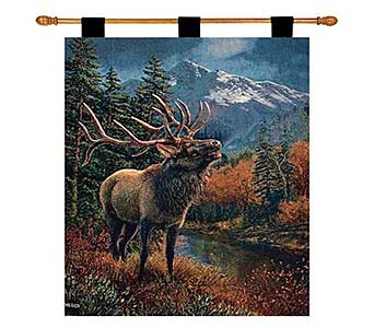 Bull Elk Wall Hanging in Nashville TN, The Bellevue Florist