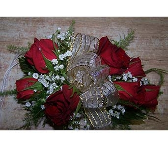 Red Rose Wrist Corsage in Voorhees NJ, Nature's Gift Flower Shop