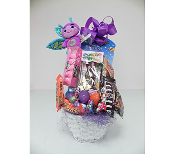 Easter Bunny Basket in Indianapolis IN, Gillespie Florists