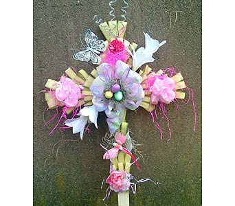 Palm Cross in Medford NY, Sweet Pea Florist