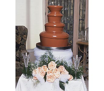 Chocolate Fountain Anniversary Parties in Grand Island NE, Roses For You!