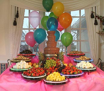 Chocolate Fountain Birthday Parties In Grand Island Ne Roses For You