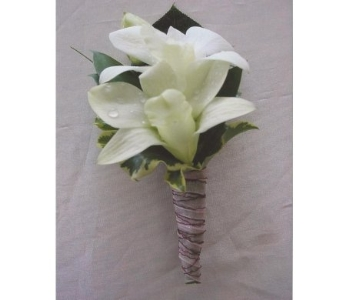 Dendrobium Orchid Boutonniere in West Bloomfield MI, Happiness is...Flowers & Gifts