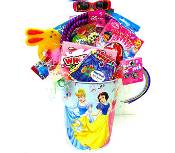 KGB39 ''My Sweet Princess'' Gift Basket in Oklahoma City OK, Array of Flowers & Gifts