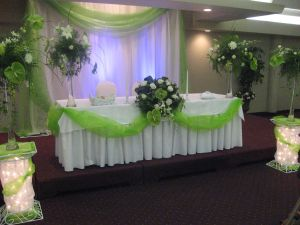 Head Table in Guelph ON, Patti's Flower Boutique
