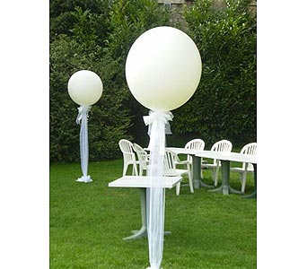 WEDDING BALLOON PILLARS in Hanover PA, Country Manor Florist
