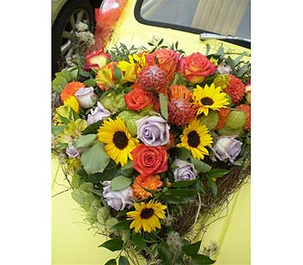 CLOSE-UP OF THE CAR in Hanover PA, Country Manor Florist