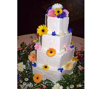 DECORATED WEDDING CAKE in Hanover PA, Country Manor Florist