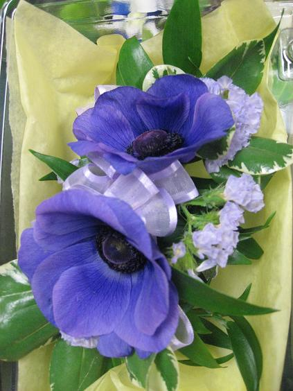 Admirable Anemone Boutonniere in Guelph ON, Patti's Flower Boutique