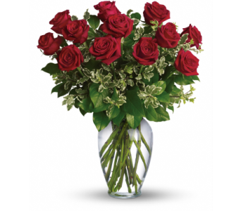 Always on My Mind - Dozen Roses - by Citti's Flori in Campbell CA, Citti's Florists