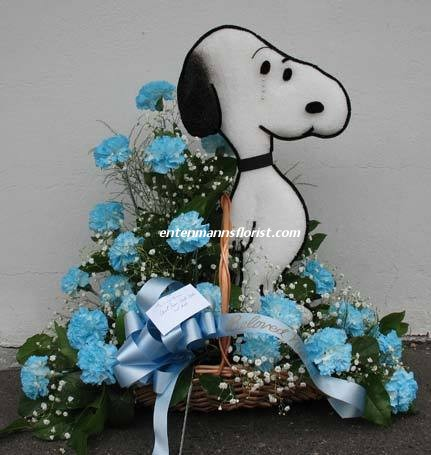 SNOOPY in Jersey City NJ, Entenmann's Florist