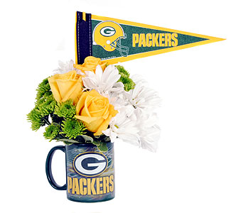Packer Backer in Madison WI, Felly's Flowers