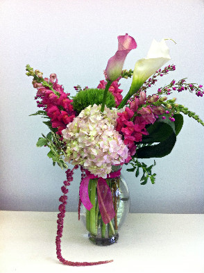 Summertime in Paris in Ridgefield CT, Rodier Flowers