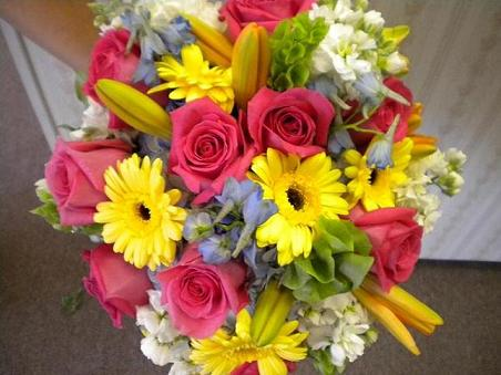 Tied tight and bright in Bensenville IL, The Village Flower Shop