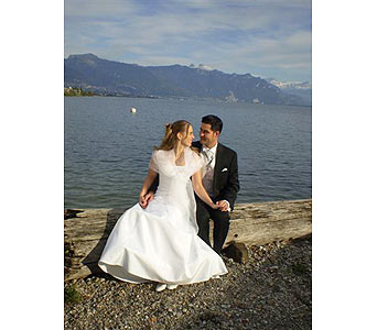 Our Wedding in the Alps in Hanover PA, Country Manor Florist