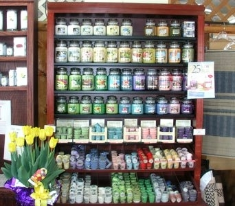 Yankee Candles in Gardner MA, Valley Florist, Greenhouse & Gift Shop